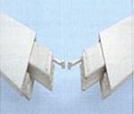 Eckschweißverbinder an Kunststoff-Türen