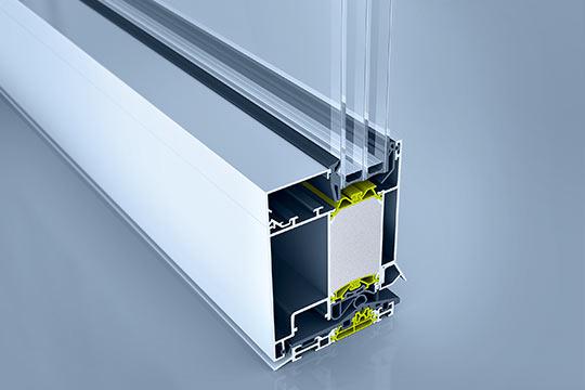 Aluminium-Tür heroal D 92