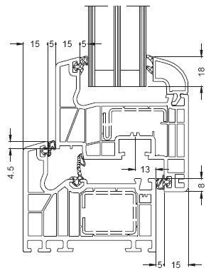 Kunststoff Fenster Mit Schuco Profil Si 82 Fensterart