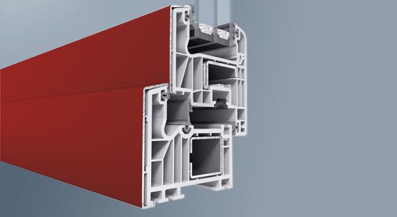 Kunststoff fenster mit sch co profil si 82 fensterart for Kunststoff schiebefenster